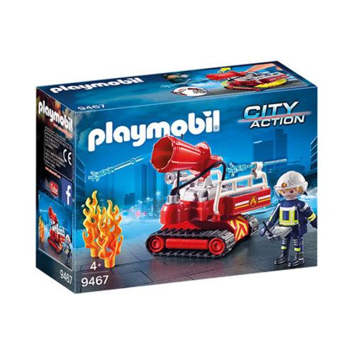 PLAYMOBIL - City Action - Pompier avec robot d'intervention