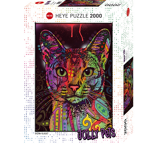 2000 pcs - HEYE - Jolly Pets - Abyssinian