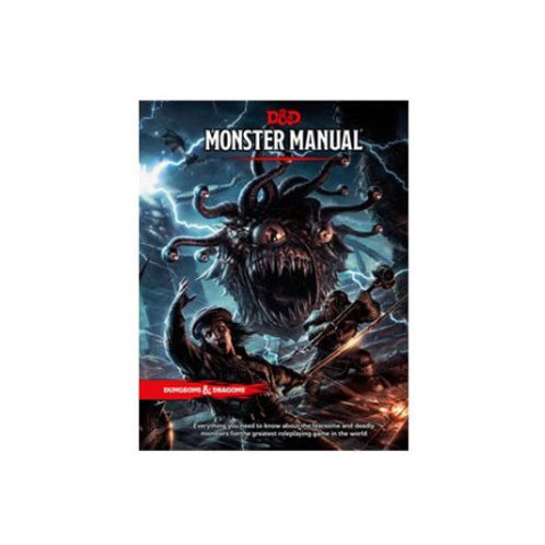 Dungeons and Dragons 5th Edition: Monster Manuel VA