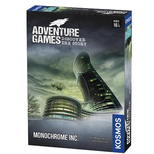 Adventure Games: Monochrome Inc VA