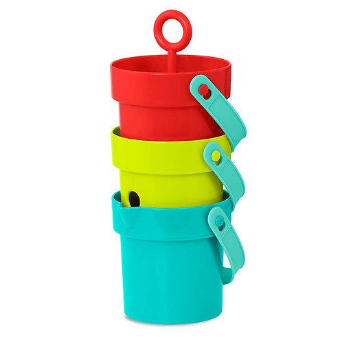 "Battat - Seau colorés ""Play Buckets"""