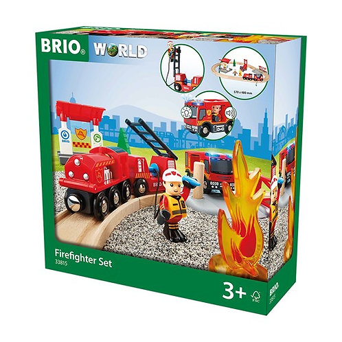 BRIO-Circuit pompier lutte contre le feu