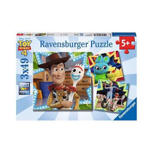 3x49 pcs - Toy Story 4 - Tous ensemble