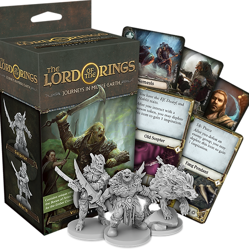 The Lord of the Rings - Journeys in Middle-Earth Exp: Villains of Eriador  VA