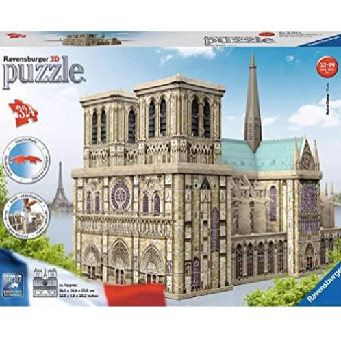 Puzzle Notre Dame de Paris 324pcs 3D