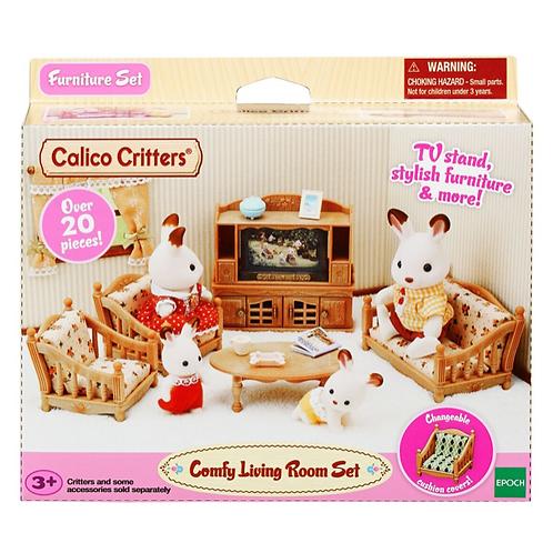 Calico Critters - Ensemble de Salon Confortable
