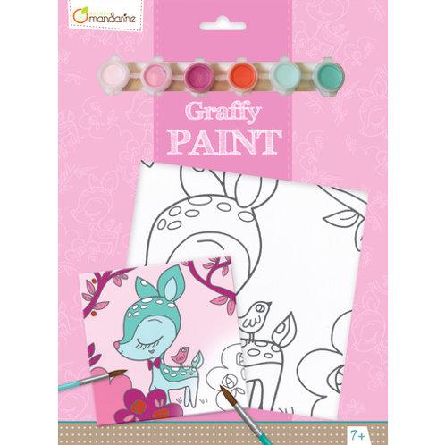 Avenue Mandarine - Graffy Paint - Faon