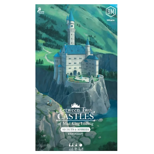 Between Two Castles of Mad King Ludwig - Secrets and Soirees Expansion  VA