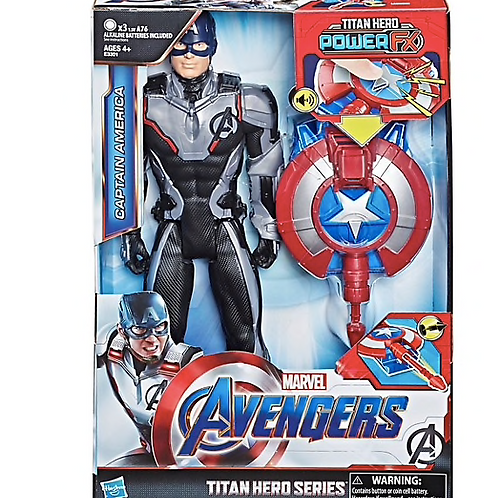 Avengers Titan Hero Series - Marvel Capitaine america VF