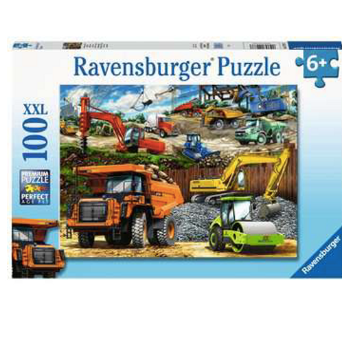 100 Pcs - Ravensburger - Véhicules de construction