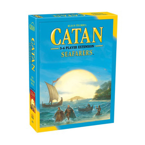 Catan - Seafarers Expansion : 5 and 6 Players Extension VA