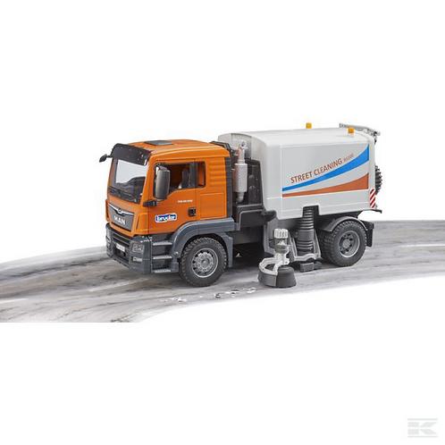 BRUDER - TGS Balayeuse / Street Sweeper