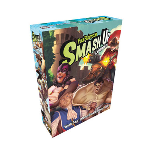 Smash Up - World Tour International Incident Expansion VA