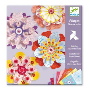 Djeco Pliage / fleurs à créer