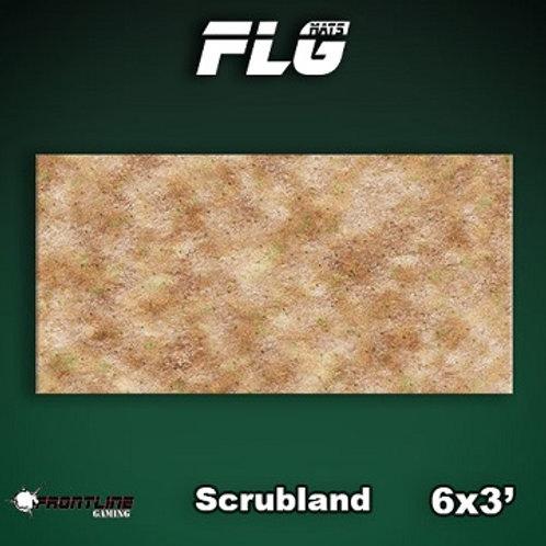 Playmat : FLG Scrubland 6x3
