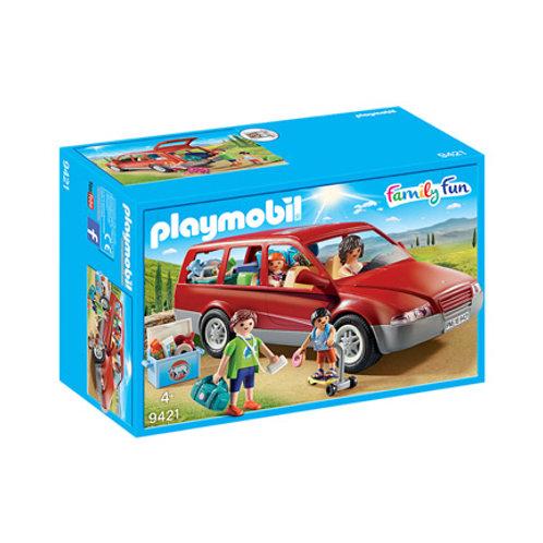 PLAYMOBIL - City Life - Famille avec voiture