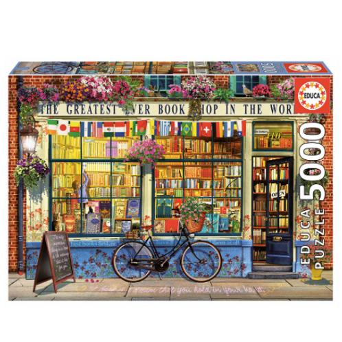 5000 pcs -  La meilleure librairie au monde - Educa