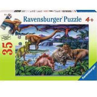35 Pcs Jardin de dinosaures