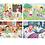 Thumbnail: 2x20 + 2x60 pcs - 4 Puzzles Progressifs Une belle journée
