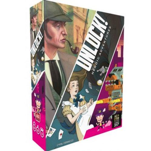 Unlock 5 Heroic adventures (Français)