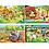 Thumbnail: 2x20 + 2x60 pcs - 4 Puzzles Progressifs de la ferme