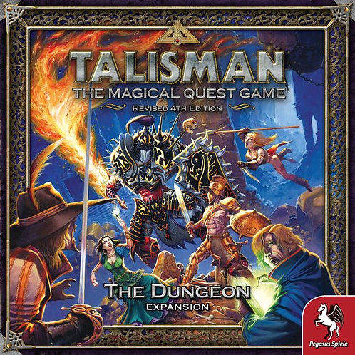 Talisman: The dungeon expansion VA