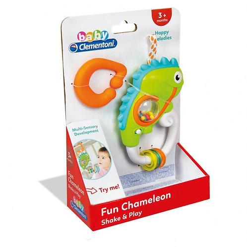 Baby Clementoni - Hochet éléctronique caméleon (ML)