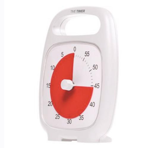 Time Timer Plus - 60 minutes - Blanc