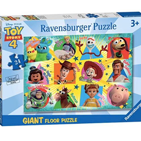 24 pcs Disney Toys Story Puzzle de plancher Géant XXL