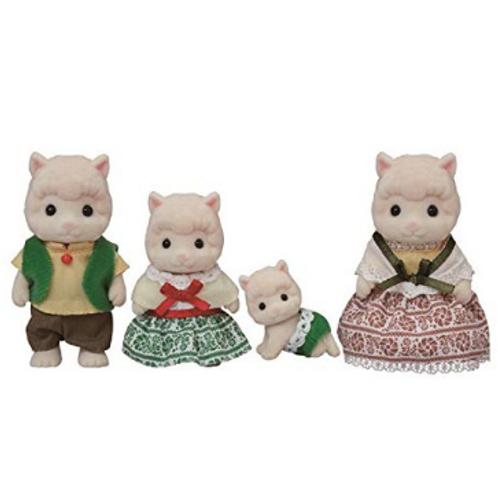 Calico Critters - Famille Alpaga laineux