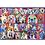 Thumbnail: 500 Pcs XXL Chiens haut en couleur (Pièces Large)