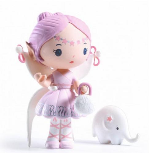 Djeco - Tinyly - Elfe et Bolero 7.5cm