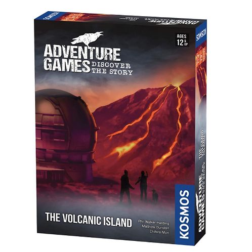 Adventure Games: The Volcanic Island  VA