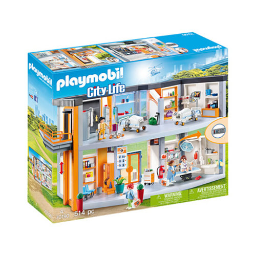 PLAYMOBIL - City Life - Hôpital Aménagée