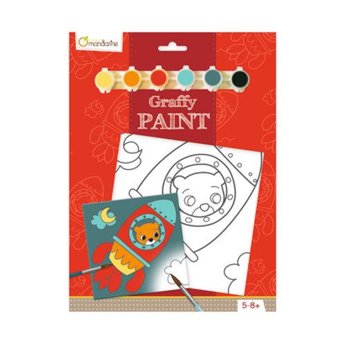 Avenue Mandarine - Graffy Paint - Ours Fusée