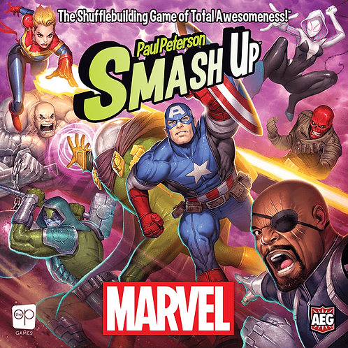 Smash Up Marvel VA