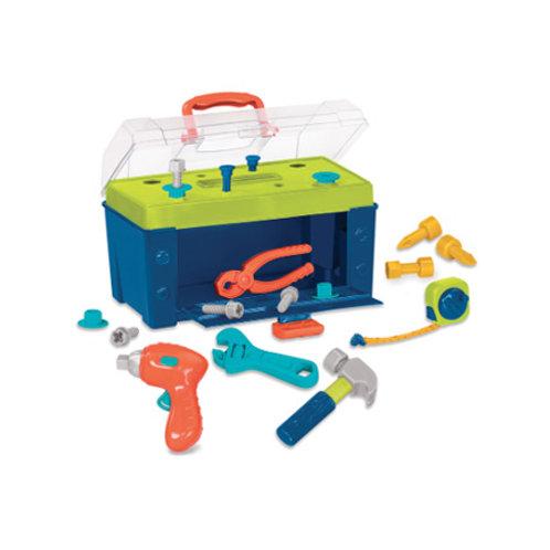 Battat - Coffre d'outils Busy Builder