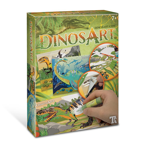 DinosArt - Tableaux à texturer