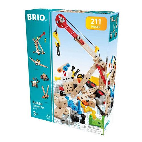 Brio -Builder activity Set 211pcs