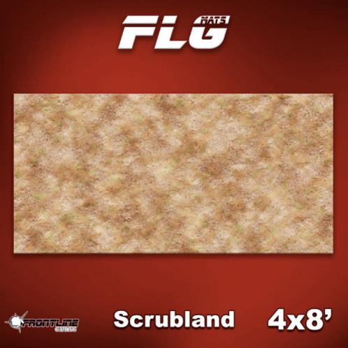 Playmat : FLG Scrubland 4x8