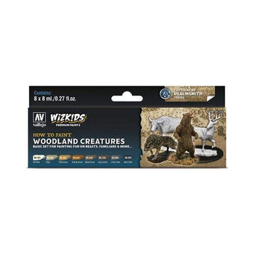 Vallejo: Wizkids Premium set - Woodland Creatures