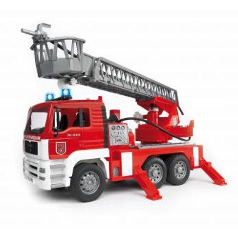 BRUDER - Camion de pompier MAN avec échelle