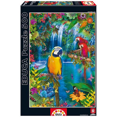 500 pcs - Paradis tropical - Educa