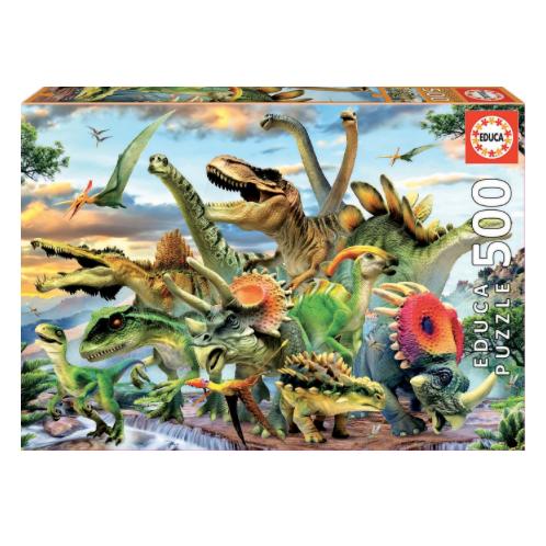 500 pcs - Dinosaures - Educa