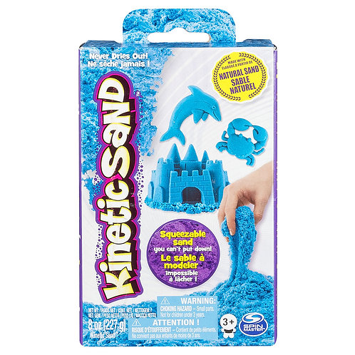 Kinetic Sand - 8oz Bleu Fluo