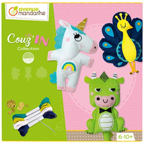 Avenue Mandarine - Mini Couz'IN Collection