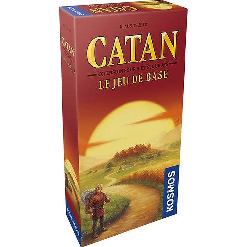 Catan - Extension pour 5-6 joueurs jeu de base VF