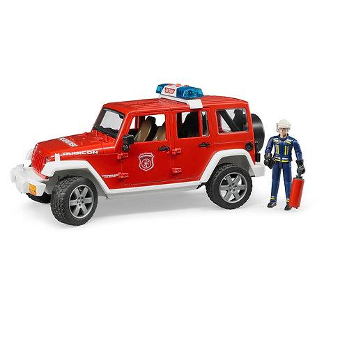 Bruder - Jeep rubicon fire rescue