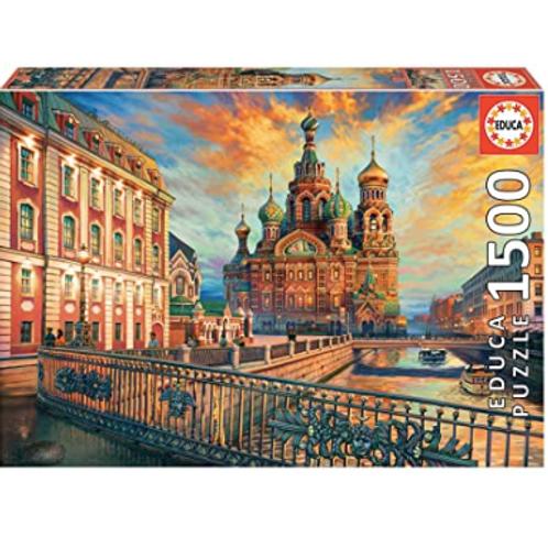 1500 pcs - Saint-Petersbourg - Educa