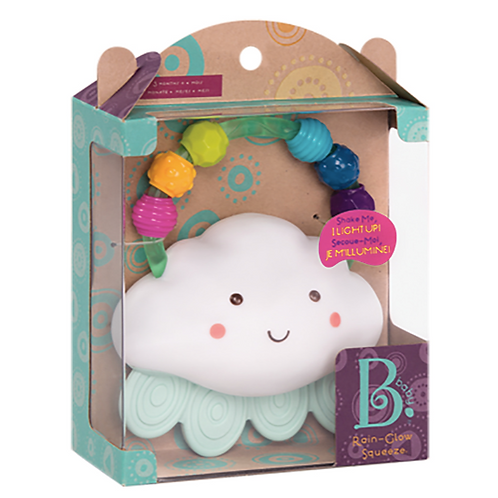 B.Baby - Hochet nuage lumineux Rain-Glow Squeeze